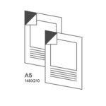 наклейка формат А5