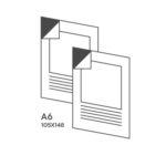 наклейка формат А6
