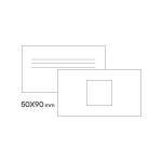 картинка Стандарт визитки 50 х 90 мм