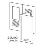 размер буклет 2 ЕВРО В ЕВРО 210х200